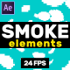 Smoke Elements // After Effects - VideoHive Item for Sale