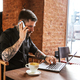 Guy with tattos calling by phone - PhotoDune Item for Sale