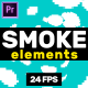 Smoke Elements // MOGRT - VideoHive Item for Sale