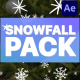 Cartoon Snowfall | After Effects - VideoHive Item for Sale
