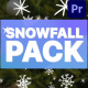Cartoon Snowfall | Premiere Pro MOGRT - VideoHive Item for Sale
