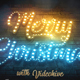 Merry Christmas Light Bulbs - VideoHive Item for Sale