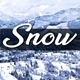 Snow in Mountains - VideoHive Item for Sale