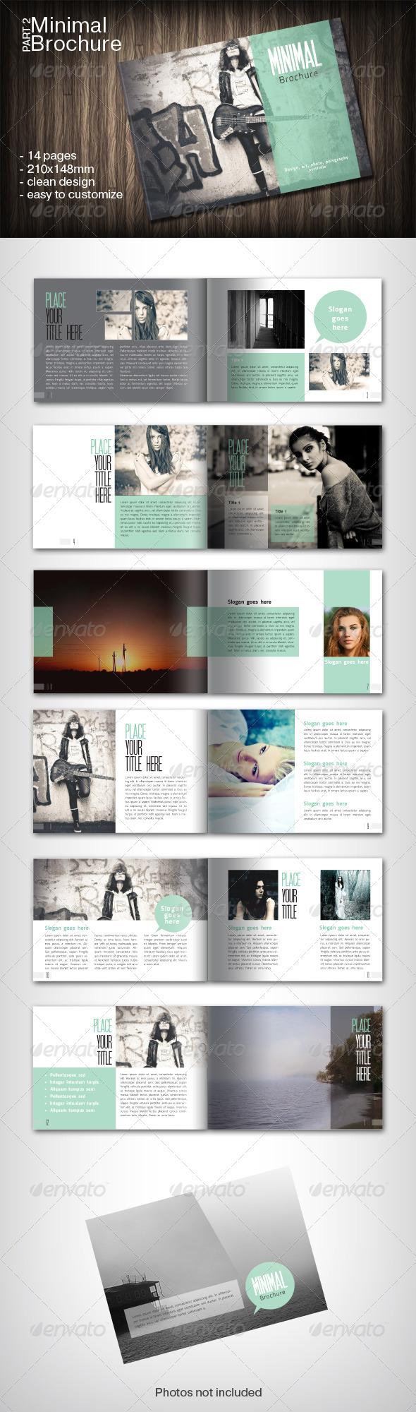 Minimal Brochure Part 2 - Brochures Print Templates