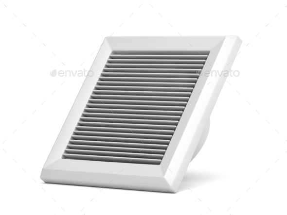 Bathroom fan - Stock Photo - Images