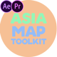 Asia Map Toolkit - VideoHive Item for Sale