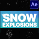Snow Explosions | After Effects - VideoHive Item for Sale