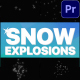 Snow Explosions | Premiere Pro MOGRT - VideoHive Item for Sale