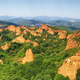 Las Medulas red mountains, Leon, Spain, UNESCO - PhotoDune Item for Sale