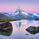 Sunrise over Matterhorn mountain in Switzerland - PhotoDune Item for Sale
