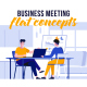 Business meeting - Flat Concept - VideoHive Item for Sale
