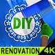 Renovation Painting Logo - VideoHive Item for Sale