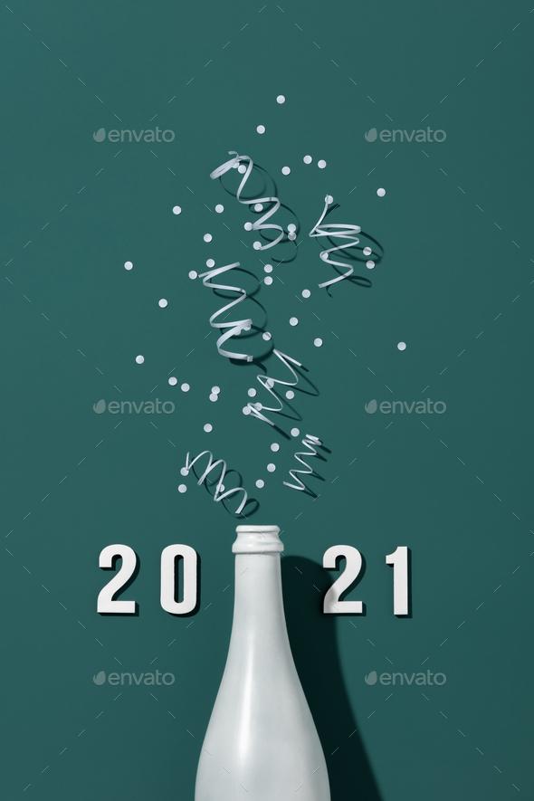 New Year Celebration - Stock Photo - Images