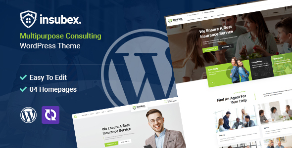 Download Insubex | Multipurpose Consulting WordPress Theme Free Nulled