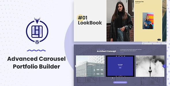 Advanced Carousel Portfolio Builder