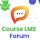 Course LMS Forum & Discussion addon