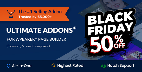 Ultimate Addons for WPBakery Page Builder (formerly Visual Composer) Nulled