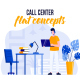 Call center - Flat Concept - VideoHive Item for Sale