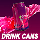 Drink Cans - VideoHive Item for Sale