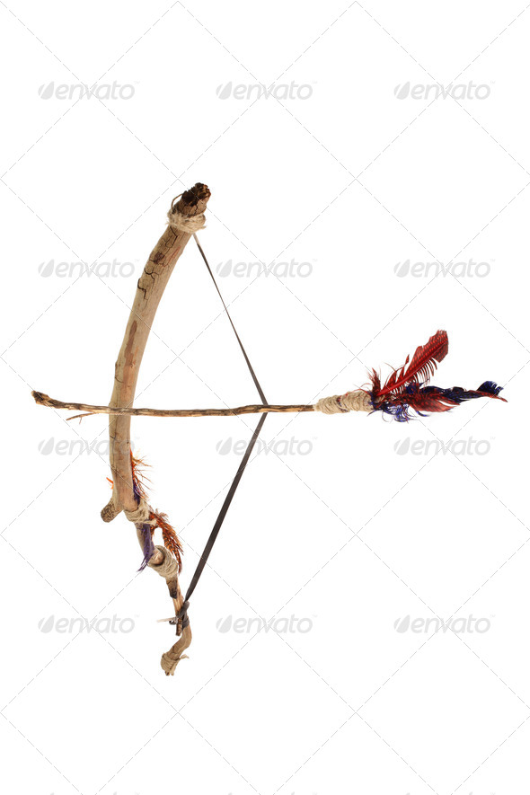 Bow and Arrow - Stock Photo - Images