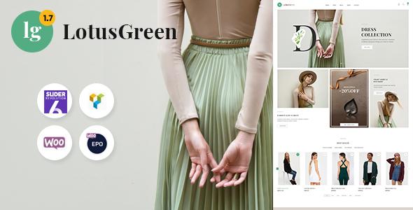 Incredible LotusGreen - Multipurpose WooCommerce Theme