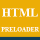 HTML CSS Preloader Animation Template