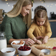 Mom and daughter making Christmas cookies together - PhotoDune Item for Sale