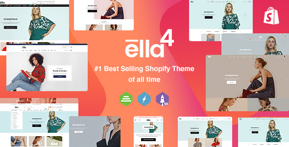 Nice Ella - Multipurpose Shopify Sections Theme