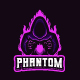 Phantom e-sport logo~gaming logo