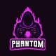 Phantom e-sport logo~gaming logo