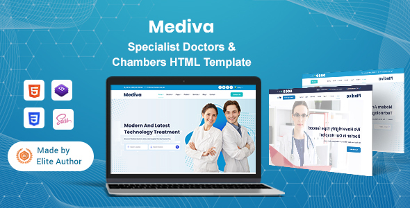 Mediva - Specialist Doctors & Chambers HTML Template