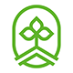 Sprout Logo Green Eco Nature Symbol