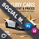 Luxury Car Sales Social Media Templates