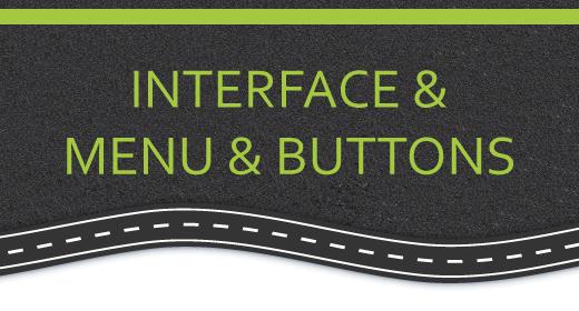 Interface & Menu & Buttons