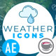 Weather Icons - VideoHive Item for Sale