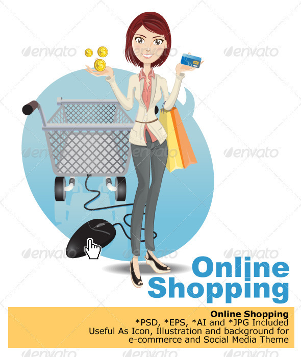 Online Shopping  - Commercial / Shopping Conceptual