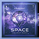 Ambient Space Chillout Music Cover Album Template