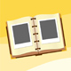 Photoalbum on the sand - GraphicRiver Item for Sale