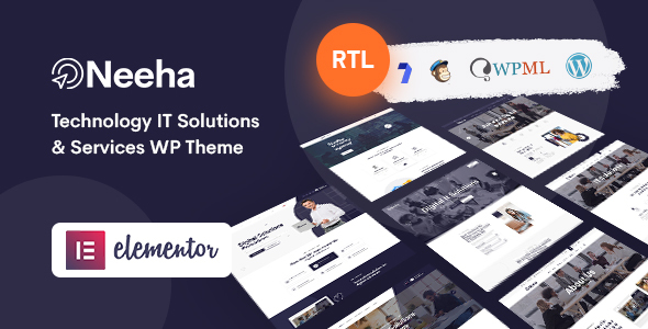 Neeha - IT Solutions WordPress Theme