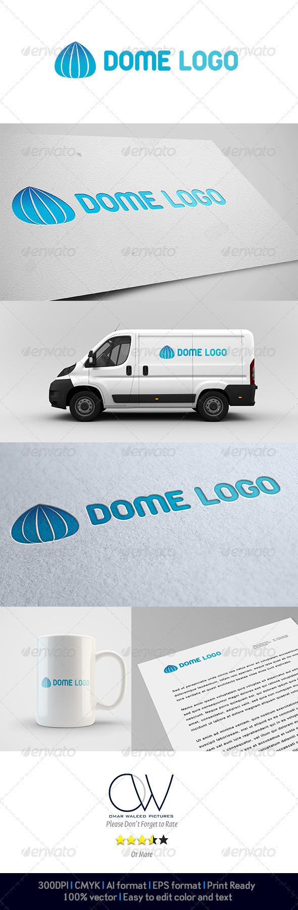Dome Logo - Abstract Logo Templates
