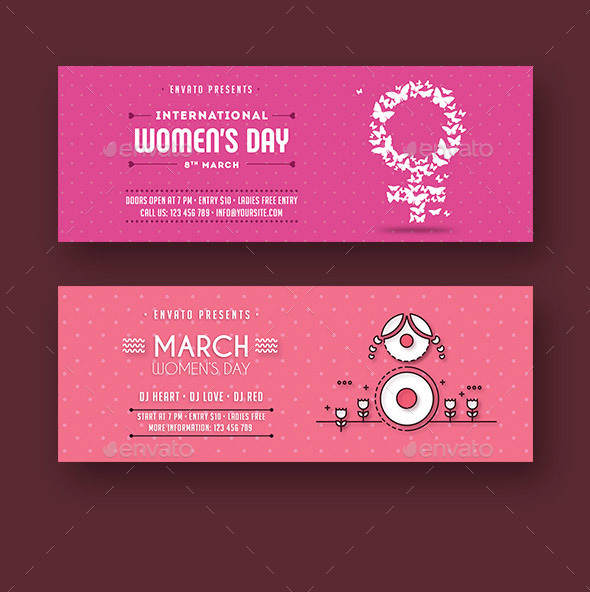 Womens Day Facebook Covers