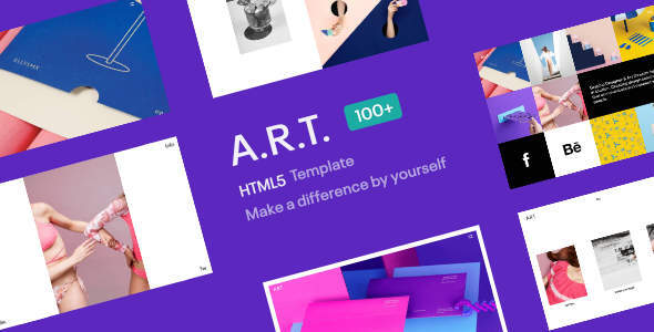 ART HTML5 Template for Creatives