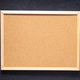 cork board at dark concrete painted wall - PhotoDune Item for Sale