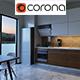 Corona Kitchen Render Setup
