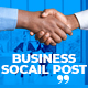 Business Promo Social Post V28 - VideoHive Item for Sale