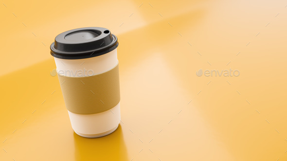 coffee to go cup - Stock Photo - Images