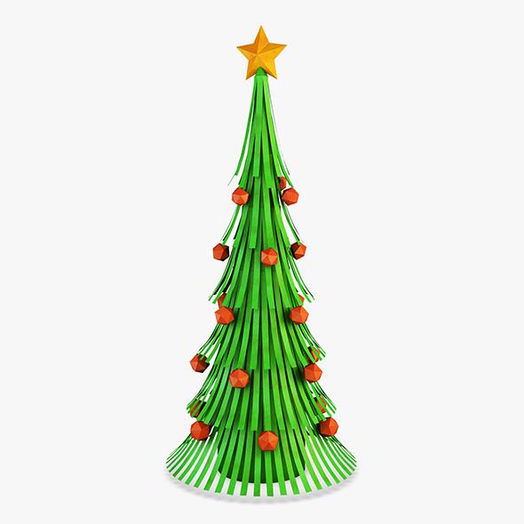 Christmas Tree Paper v 1