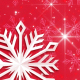 Red Snowflake Background - VideoHive Item for Sale