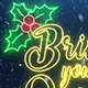 Christmas Neon Light - VideoHive Item for Sale