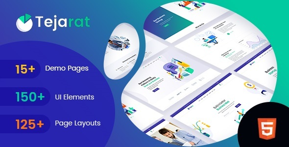 Super Tejarat - Multipurpose Business & Corporate HTML Template
